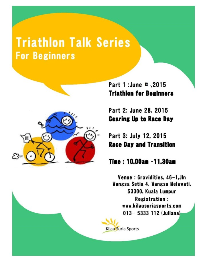 Triathlon Talk Series Promo